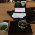 源氏総本店 - 桜のアイスが美味しいです。o(^_^)o       滑らかさ、香り、味、旨いです。