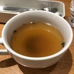ポムの樹 - セットのスープ