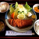 みの和 - チキンカツ定食(900円)