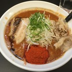 82860448 - 辛口肉ソバ「味噌」レベル3