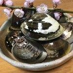 ビーンズ - 捕獲したハマグリは実家からきた筍と一緒にいろいろ料理していただきました(^^)