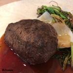 82861607 - エゾジカのヒレ肉のロースト