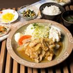ボローニャ・吉虎 - 手作り特製ダレの豚バラ生姜焼き定食
