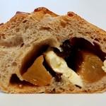 ブーランジェリー クク - りんごとクリームチーズ