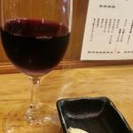82865152 - グラスワインの赤500円