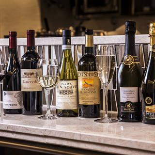 ◆魚の共に◆南イタリアに厳選したワインをリーズナブルに♪