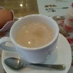 オレンジハウス - ドリンク写真:カフェオーレ