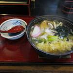 そば処大久 - 料理写真:天鍋うどん(๑>◡<๑)