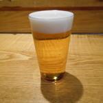 女とみそ汁 - ビール(///ω///)♪