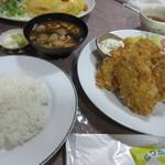 ミドリ食堂 - カキフライ