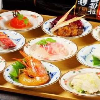 【店長おすすめ】中華前菜9連盛り!お得にいろいろ味わえます
