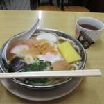 梅月 - 鍋焼きうどん(*´꒳`*)