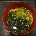 松屋 - ミニうどん180円