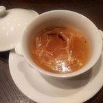 マンダリンコート - 干し貝柱入り とろみスープ