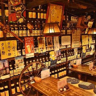 何とも居心地が良い・・・古き良き日本の居酒屋空間