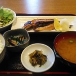 82875459 - いわし焼き魚定食750円