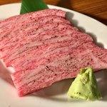 焼肉 芝浦 - フカヒレ 2,200円