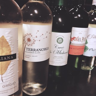 。*★20種のボトルワインが飲み放題!!★*。