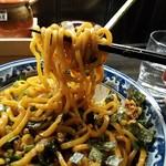 Ramenshokudourairakukenkyoudaiten - ッと来る力強さも味わえて、なかなか美味しかったです