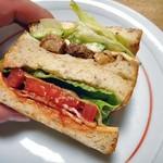 ブーランジェルクール - 越後もち豚のサンドイッチ