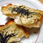ブーランジェルクール - しらすトースト