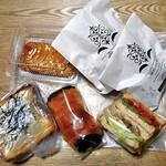 ブーランジェルクール - 料理写真:購入したパン類