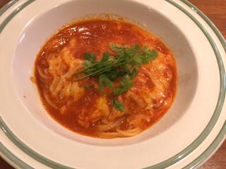 オステリア ヨシ - モッツァレラチーズとトマト