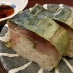82883999 - ⑬鯖寿司                       美味しいけど感激は無いです。