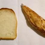 ブーランジェリー メチエ - ハードトーストとレトロバゲット小