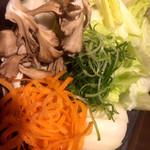 しゃぶしゃぶ 温野菜 - 野菜
