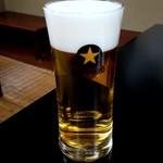 笹乃雪 - 生ビール:650円