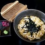 笹乃雪 - うずみ豆富(豆富茶漬)