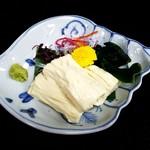 笹乃雪 - 湯葉刺身:700円