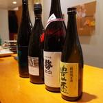 旬の味 しょう - 日替わりの日本酒たち