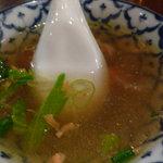 サワディー - セットのスープ