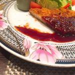 大屋冨幸  - ロースカツは少し薄切りで食べやすくヘルシー