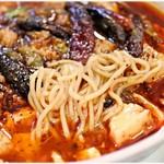 雲林坊 - 軽めな食感の麺。