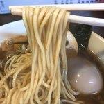 82892804 - 【2018年03月】煮干し正油、麺アップ。
