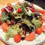 こいで - 有機野菜のサラダ