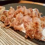 こいで - ホタルイカの天ぷら