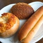 さとやベーカリー - 料理写真:今回買ったパン