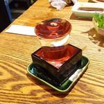 魚心 - 1803_魚心 梅田店_日本酒(失念…)