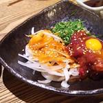 魚心 - 1803_魚心 梅田店_桜肉ユッケ@680円