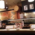 魚心 - 1803_魚心 梅田店_店内