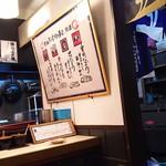 魚心 - 1803_魚心 梅田店_ぶっち切り寿司作法