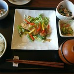 やさい食堂 七福 - 魚菜定食