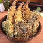 天ぷら 豊野 - 豊野丼・1000円
