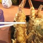 天ぷら 豊野 - まあまあのサイズ♡