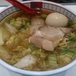 どうとんぼり神座 - 【煮玉子ラーメン】¥780