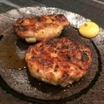 和鶏屋 - H.29.12.8.夜 レンコン肉詰め @160円